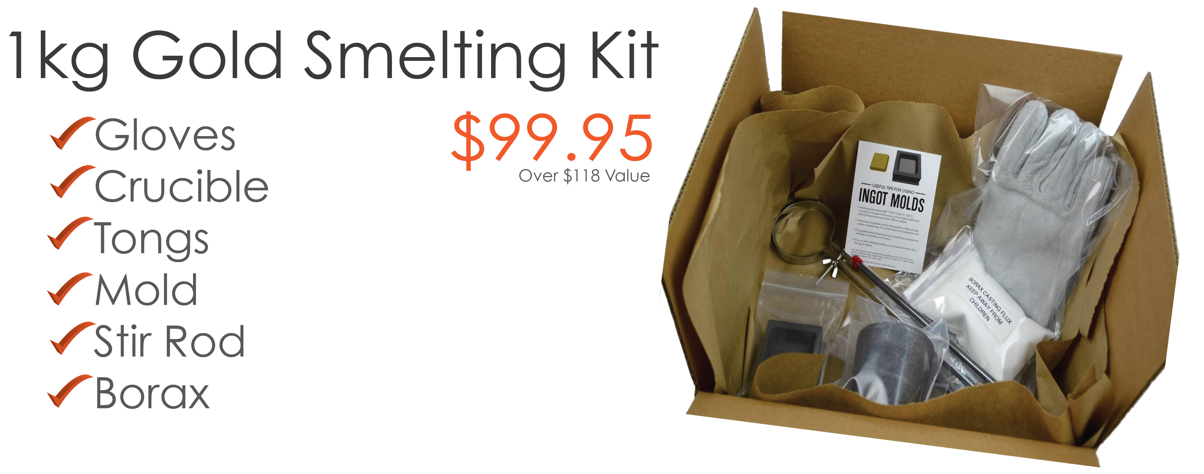 Gold Smelting Kits