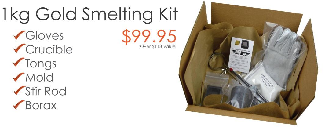Gold Smelting Kits