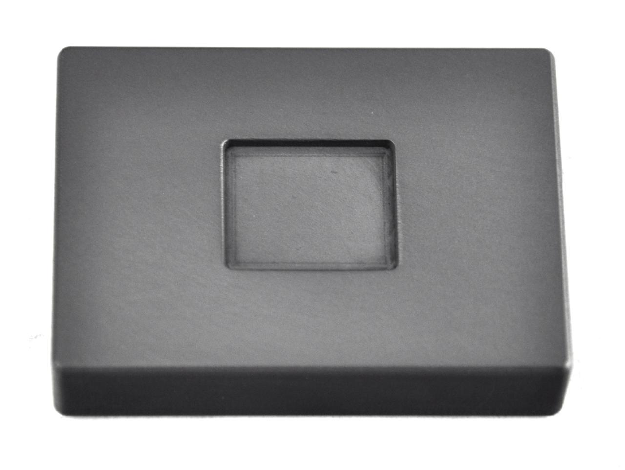 1 4 Troy Ounce Silver Rectangular Graphite Ingot Mold